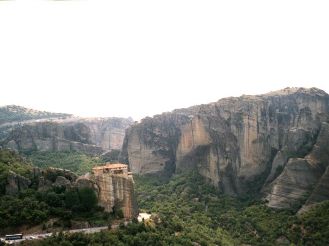 Meteora, Görögország, Russzanu kolostor