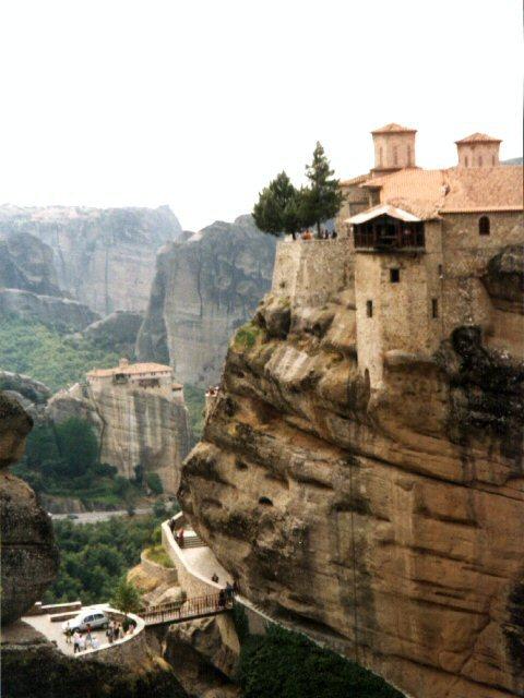 Meteora, Görögország, Varlaam kolostor